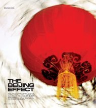 The Beijing Effect (published in Olympic Review) - Play the Game