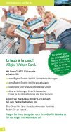 Reiseführer Allgäu-Walser-Card - Page 4