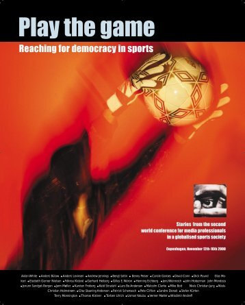 Reaching for democracy in sports - Play the Game