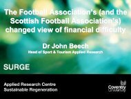 The Football Association's (and the Scottish ... - Play the Game