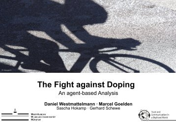 An Agent-based Analysis - Daniel Westmattelmann ... - Play the Game