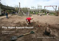 Annual report 2010 - 2011.pdf - Play Wales