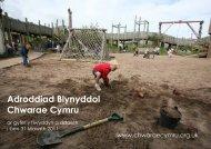 Lawrlwytho'r Adroddiad Blynyddol - Play Wales