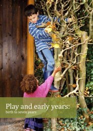 Download Play and early years - Play Wales