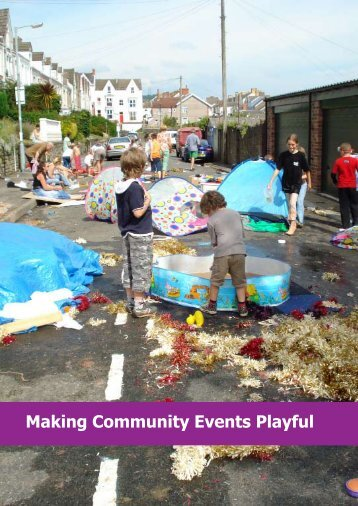 Making Community Events Playful - Playday