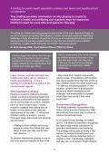 health and wellbeing information sheet - Play Wales - Page 2
