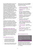 health and wellbeing information sheet - Play Wales - Page 3