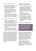 health and wellbeing information sheet - Play Wales - Page 4