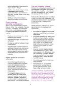 health and wellbeing information sheet - Play Wales - Page 6
