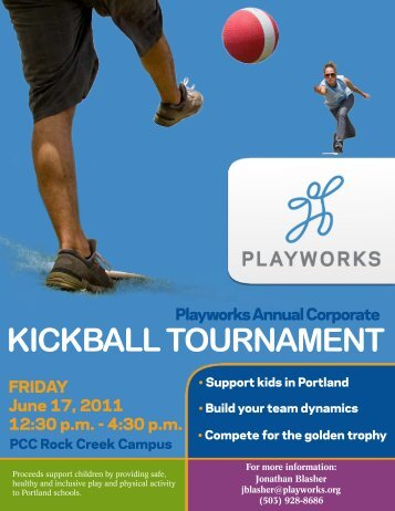KICKBALL TOURNAMENT - Playworks