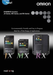 JX Series, MX Series, and RX Series - PLCeasy