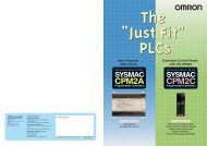 CPM2A CPM2C Programmable Controllers - PLCeasy