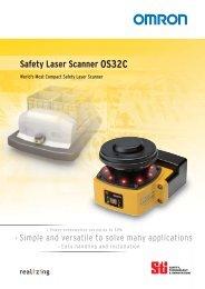 Safety Laser Scanner OS32C - PLCeasy