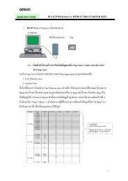 PLC(CP1H-Series) vs. RFID (V720S STARTER KIT ... - PLCeasy