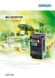 MX2 INVERTER - PLCeasy