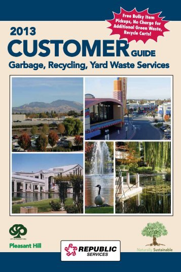 Pleasant Hill Customer Guide 2013 - Allied Waste Services of ...