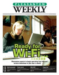 Pleasanton expects to begin operating free Internet service ...
