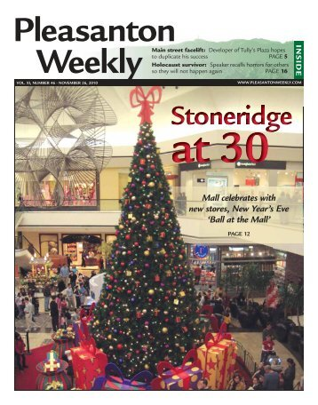 Mall celebrates with new stores, New Year's Eve - Pleasanton Weekly