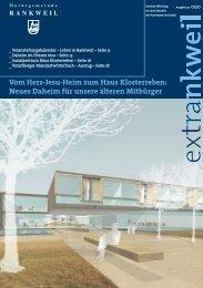 Vom Herz-Jesu-Heim zum Haus Klosterreben: Neues Daheim f