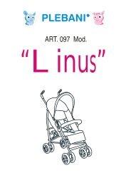 LINUS - Instructions - Plebani, linea prima infanzia