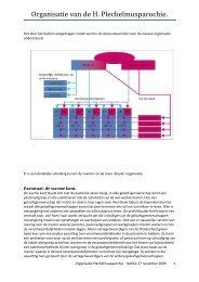 Organisatiestructuur - Parochie van de H. Plechelmus