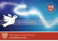 Pleckgate High School ePleckgate High School - Pleckgate School