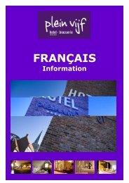 FRANÇAIS - Plein vijf