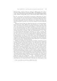 Michael Erler, Andreas Graeser (Hrsgg.): Philosophen des ... - Plekos