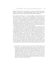 Richard Alston, Sam Lieu (Hrsgg.): Aspects of the Roman ... - Plekos