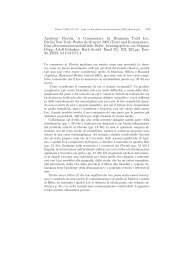Apuleius' Florida. A Commentary by Benjamin Todd Lee ... - Plekos