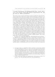 Cornelius Motschmann: Die Religionspolitik Marc Aurels. Stutt - Plekos