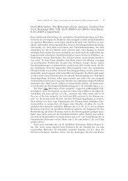 David Rohrbacher: The Historians of Late antiquity. London ... - Plekos