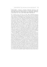 Ulrich Eigler: Lectiones vetustatis. Römische Literatur und ... - Plekos