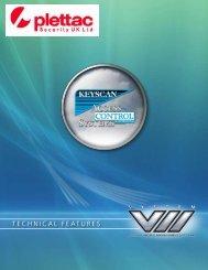 Keyscan Access Control Systems - plettac Security UK Ltd...