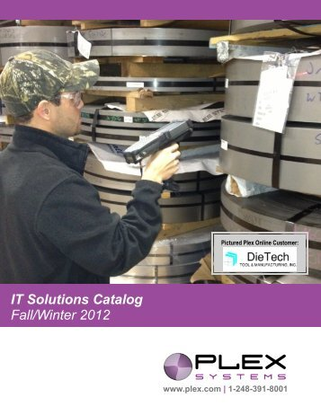 IT Solutions Catalog Fall/Winter 2012 - Plex Systems