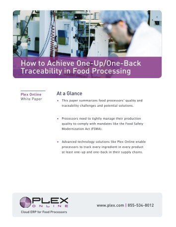 the one-up/one-back - Plex Systems