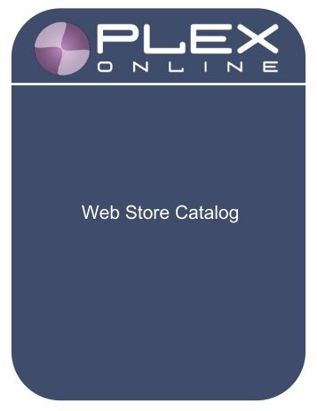 Web Store Catalog