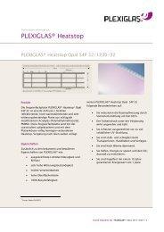 PDF (142.21 KB) - PLEXIGLAS