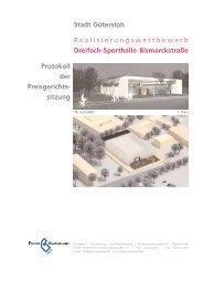 Realisierungswettbewerb Dreifach Sporthalle ... - Dhp-sennestadt.de