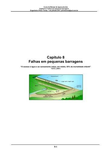 Capítulo 8 Falhas em pequenas barragens - Pliniotomaz.com.br