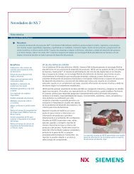 What's new in NX 7 Fact Sheet (Spanish Mexican) - Siemens PLM ...