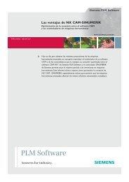 The NX CAM - Siemens PLM Software