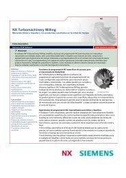 NX Turbomachinery Milling - Siemens PLM Software