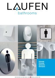 Urinals Urinale Urinoirs Orinatoi - Laufen
