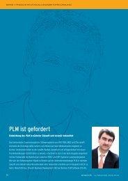 PLM ist gefordert - Siemens PLM Software