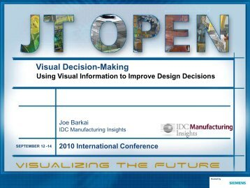 Visual Decision-Making - Siemens PLM Software
