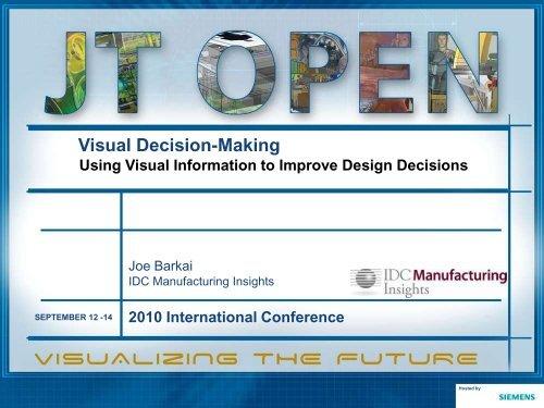Visual Decision-Making - Siemens PLM Software