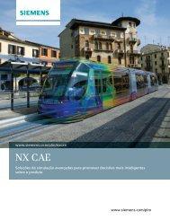 NX CAE brochure (Brazilian Pourtuguese) - Siemens PLM Software