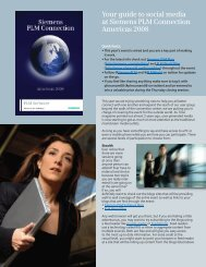 Your Guide To social Media At Siemens PLMC