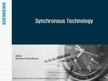 동기식 기술 소개 - Siemens PLM Software